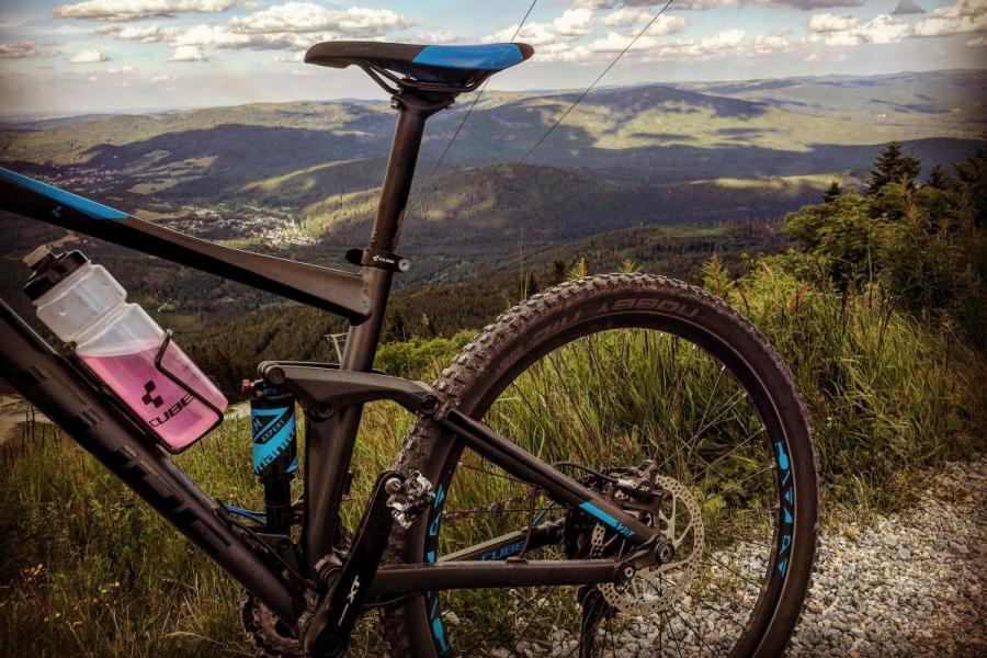 Mit dem Mountainbike am Großen Arber