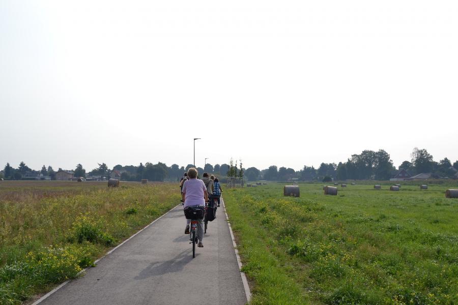 Radweg An der Lake