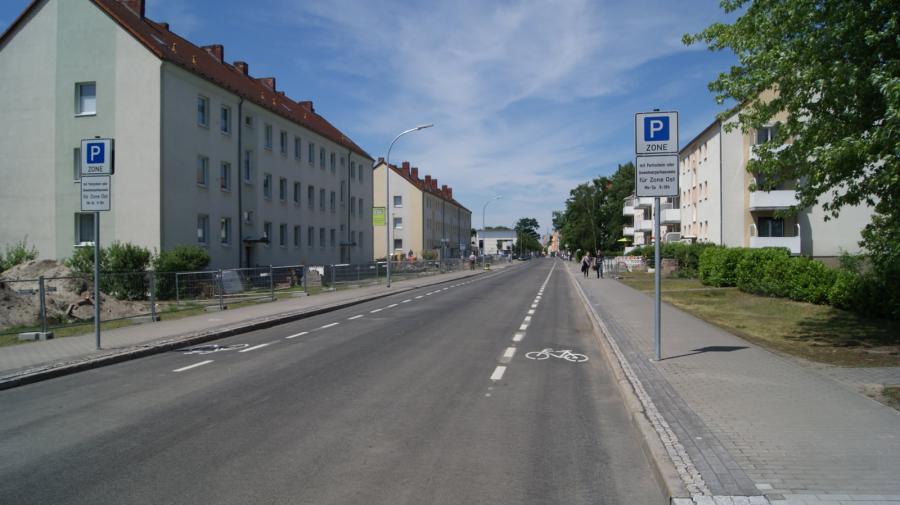 Radwege Lehnitzstr. 2