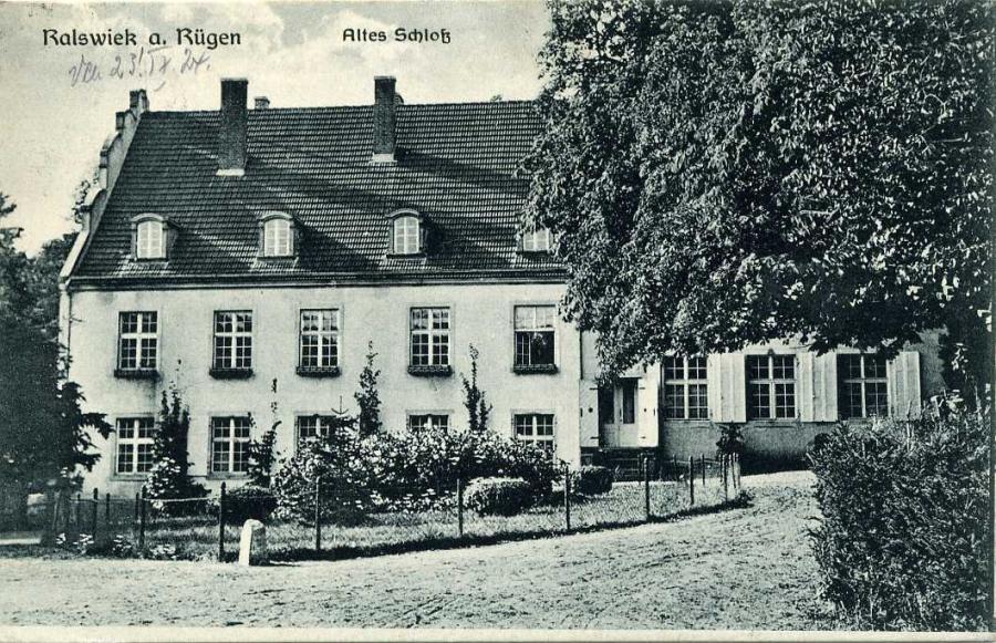 Ralswiek a. Rügen Altes Schloß 1924