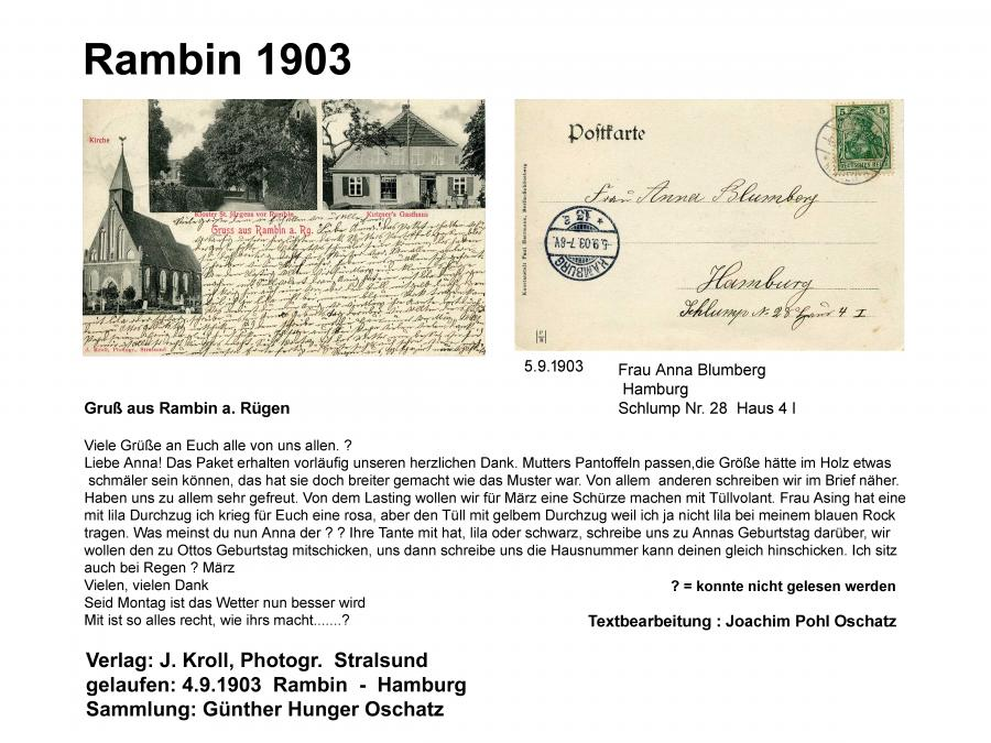 Rambin 1903 Text