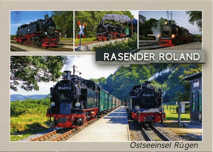 Rasender Roland Ostseeinsel Rügen