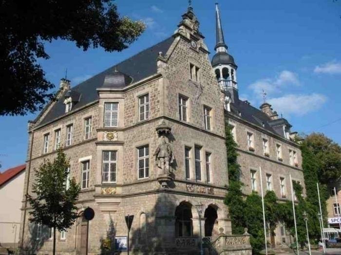 das Rathaus Lützen
