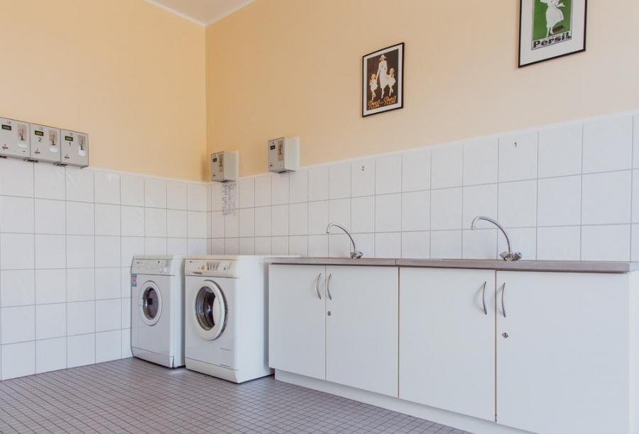 Campingplatz Rathenow Stellplätze Waschmaschine