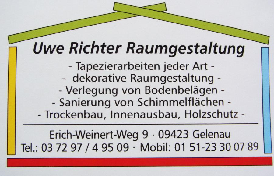 Raumgestaltung Uwe Richter