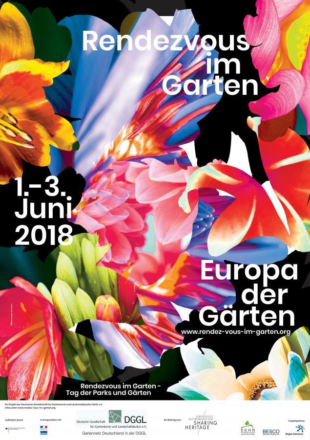 Rendezvous im Garten - Tage der Gärten und Parks 2018