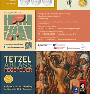 Flyer Programm 2017 Reformation in Jüterbog