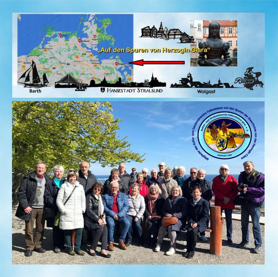 Reise nach Barth-Strahlsund-Rügen