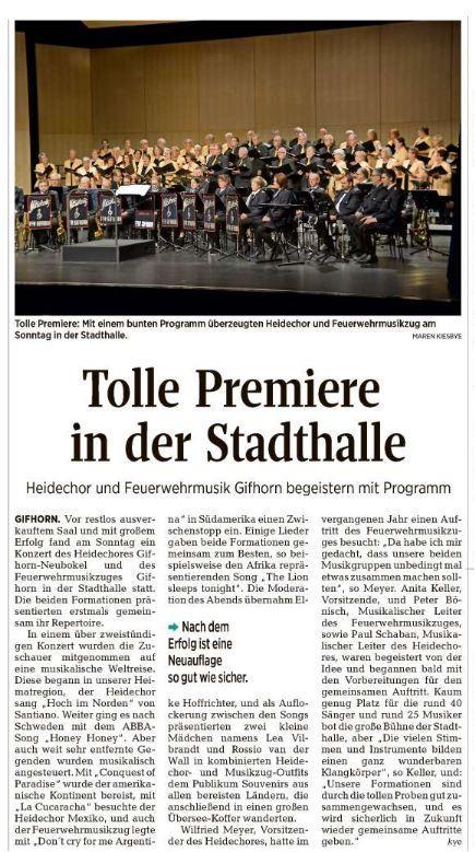 AZ Konzertbericht