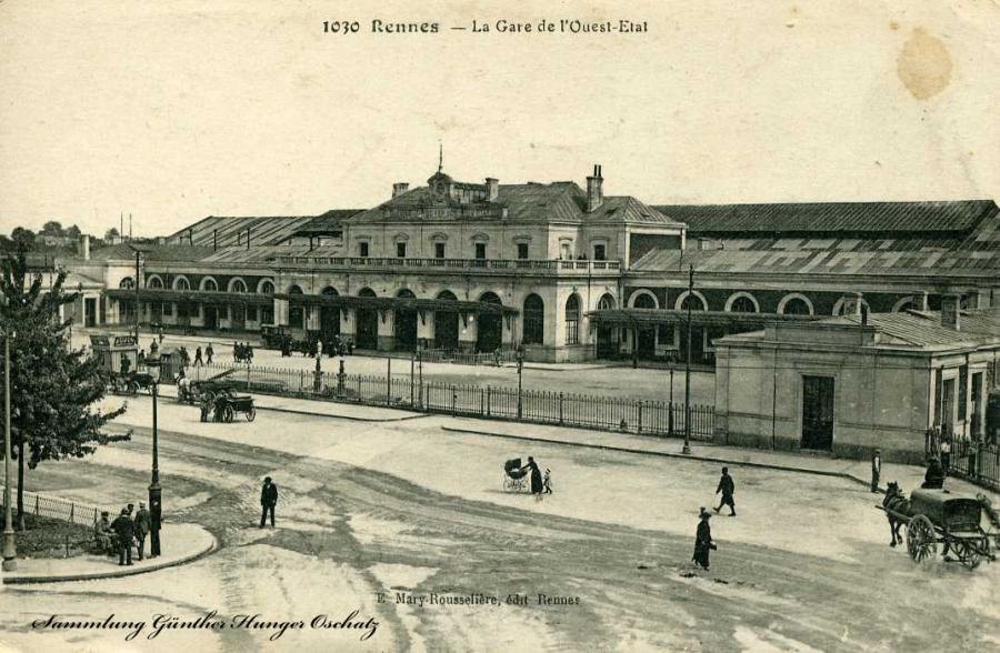 Rennes -La Gare de L´Ouest-Etal