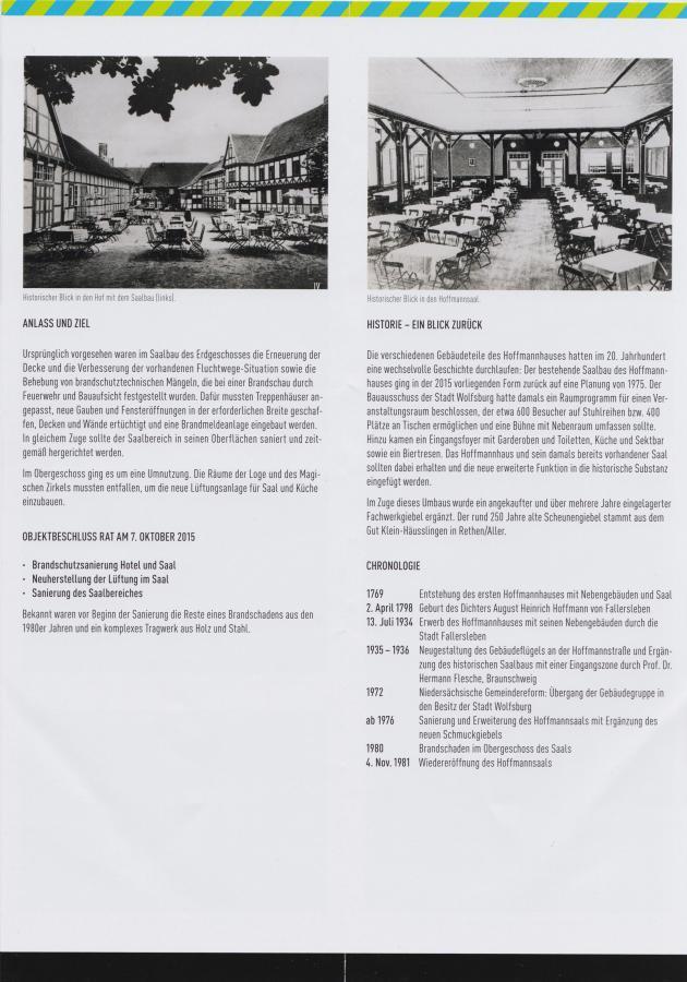Renovierung Hoffmann-Saal Fallersleben 4