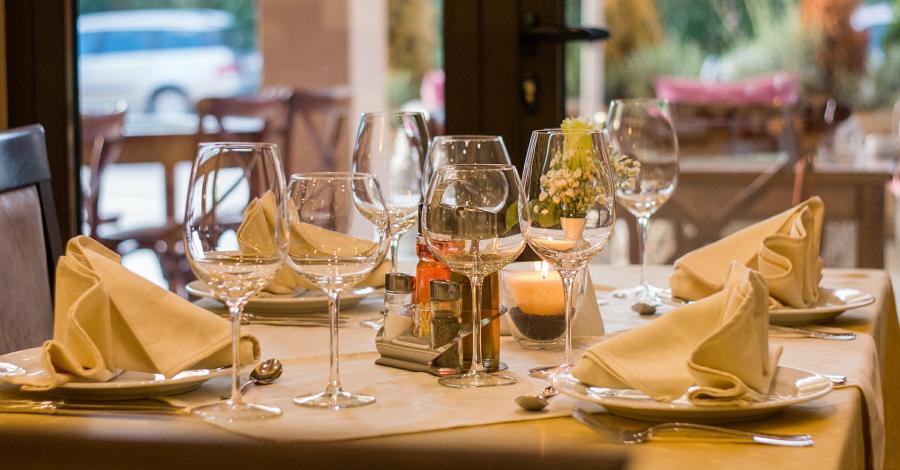 Unterkunft und Gastronomie