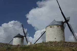 La Mancha: Windmühlen