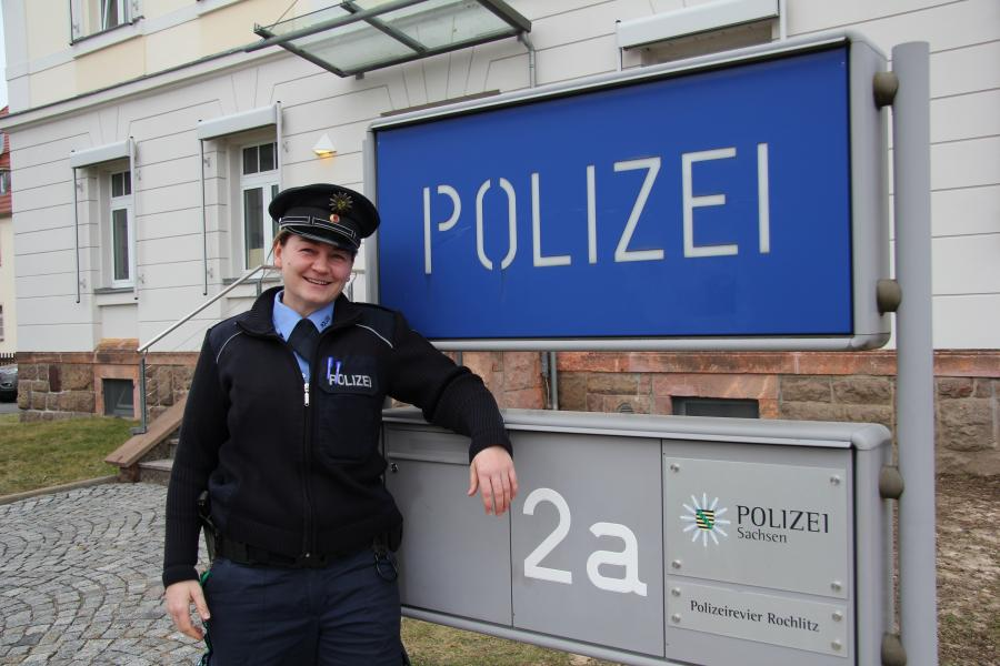 Polizeiobermeister Marion Wolf