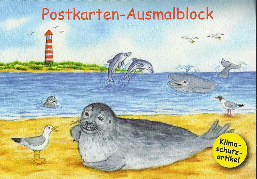 Pk-Ausmalblock A 6 quer