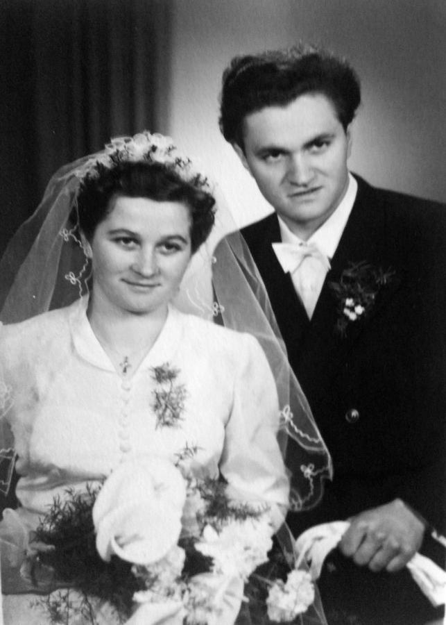 Hochzeit Anna und Rudolf Rötlich 1956 (1)
