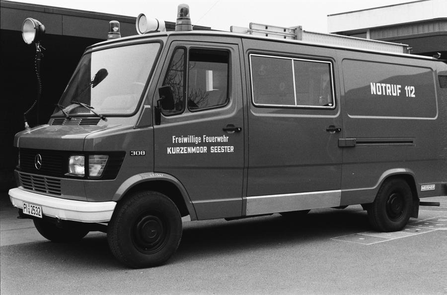 Tragkraftspritzenfahrzeug (TSF) Mercedes-Benz, 1978