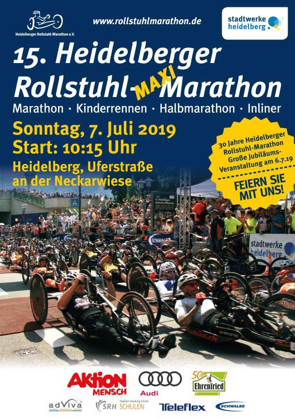 Flyer Rollstuhlmarathon