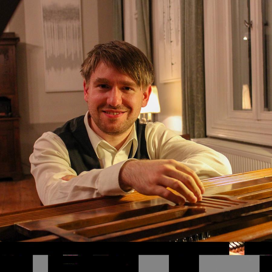 Ronny Kaufhold im Herrenhaus Groß Jehser Foto: Ingrid Hoberg