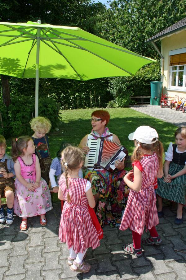 Instrumente kennenlernen kindergarten