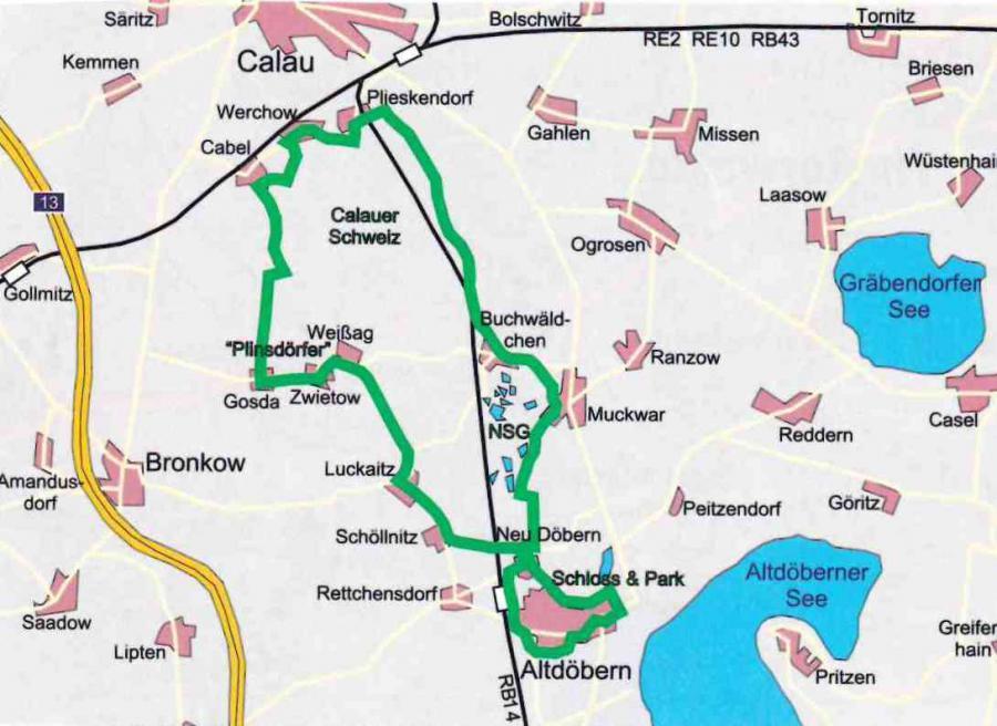 Route Pilnsdörfertour