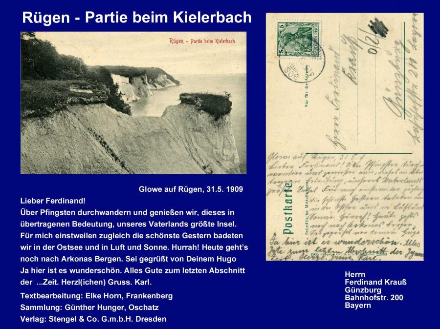 Rügen-Partie beim Kielerbach