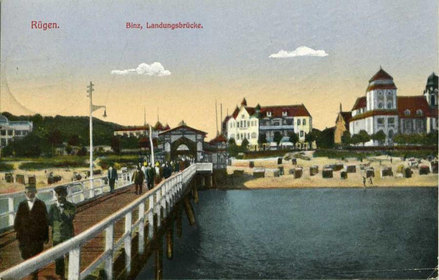 Rügen Binz Landungsbrücke
