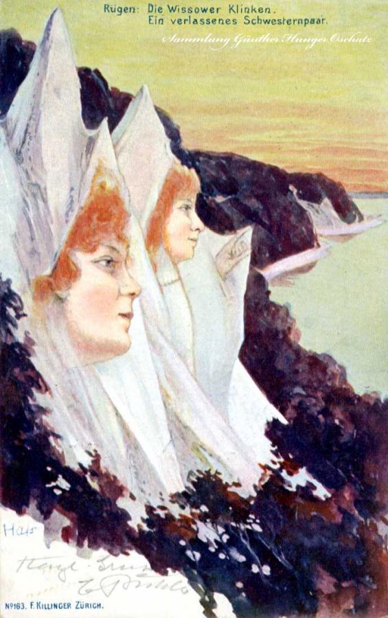 Rügen Die Wissower Klinken Ein verlassenes Schwesternpaar