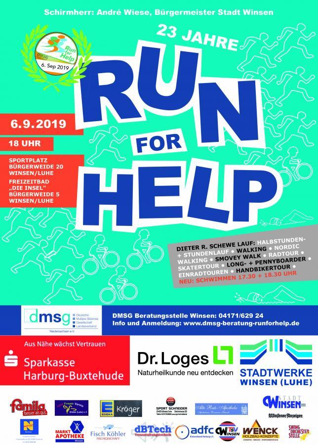Plakat Run for Help 2019_2