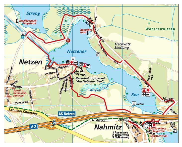 Karte_Rundweg Netzener See