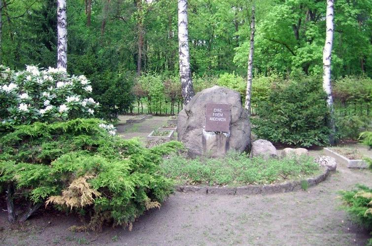 Russischer Garnisionsfriedhof im Stadtpark