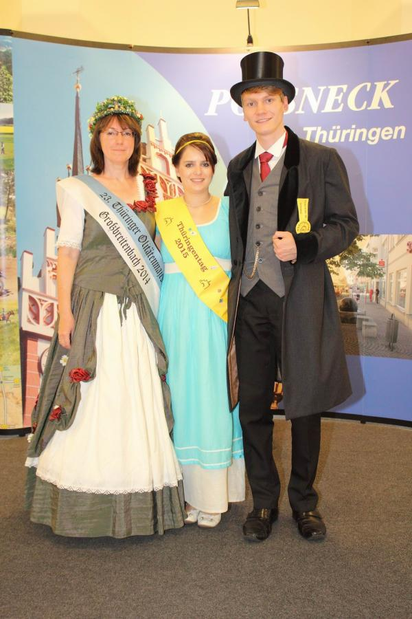 Ruth Bredenbeck, Thüringenpaar Pößneck