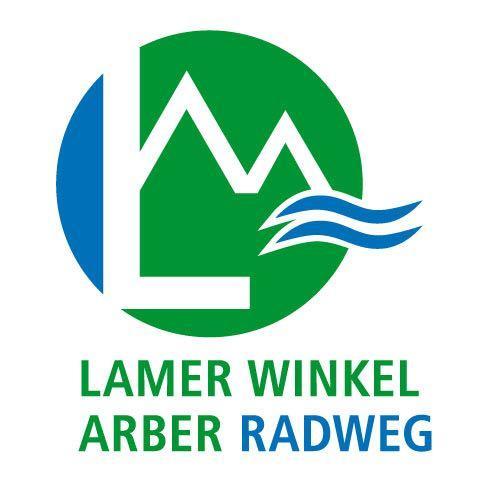 Markierung Lamer Winkel Arber Radweg