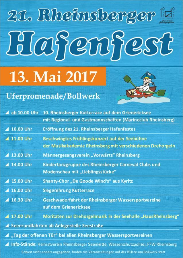 S1 Rheinsberger Hafenfest 2017