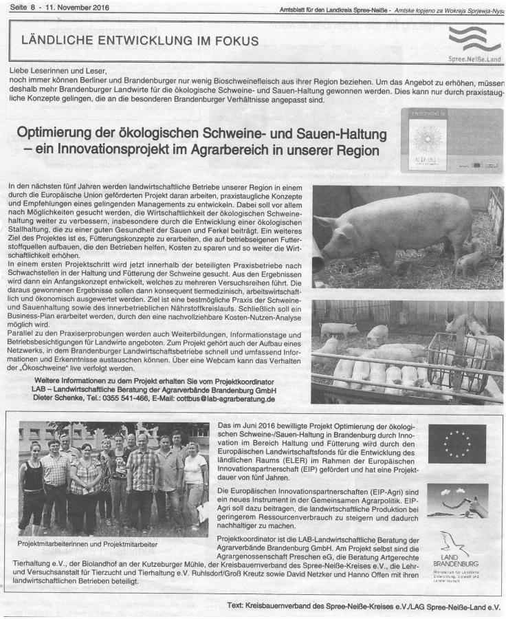 Amtsblatt für den Landkreis Spree - Neiße