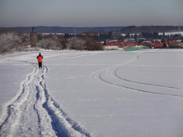 phantastischer Schnee für Langläufer
