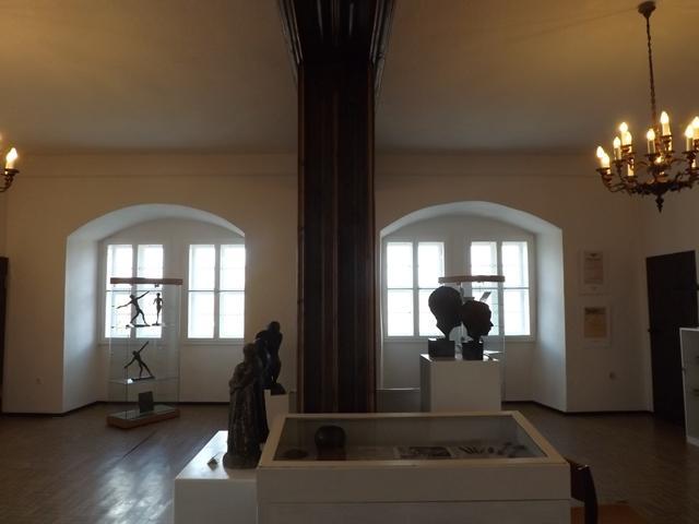 Wilhelm Otto Ausstellung im Kaminzimmer