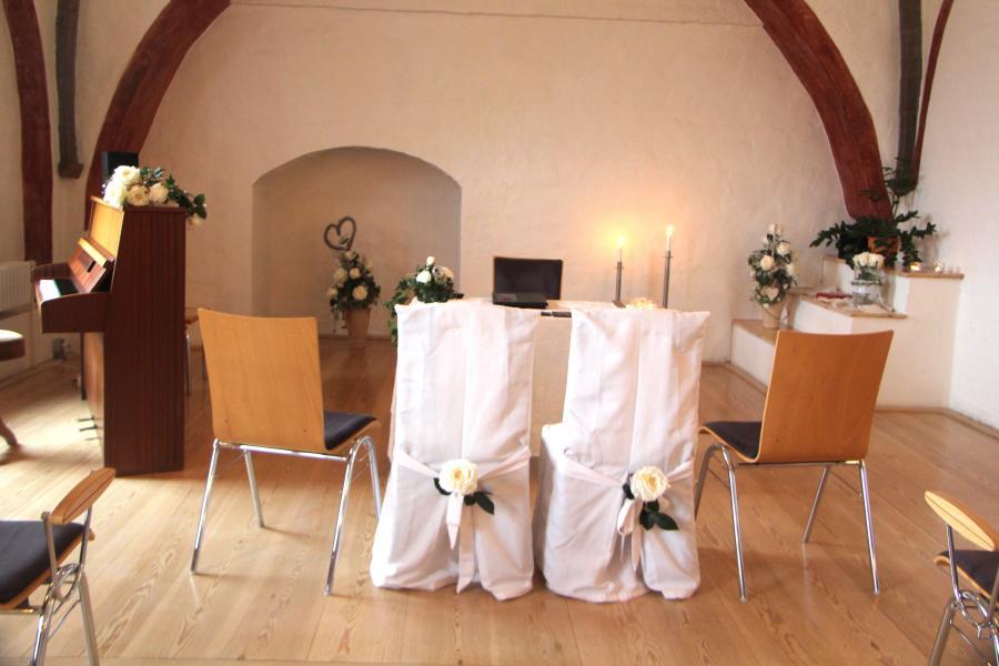 Trauzimmer Kempff-Saal im Mönchenkloster 10