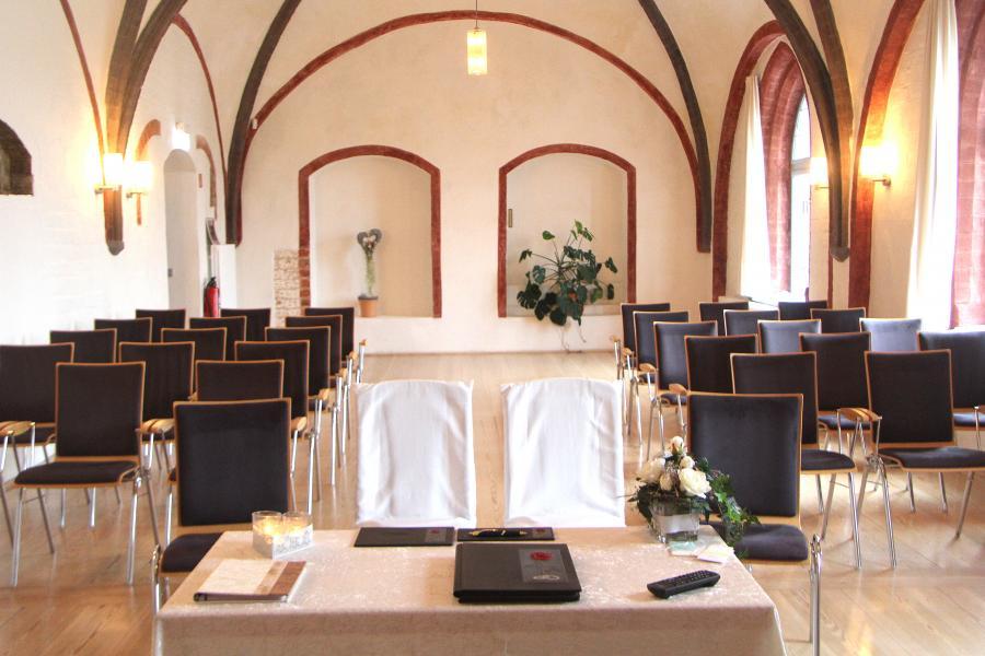 Trauzimmer Kempff-Saal im Mönchenkloster 11