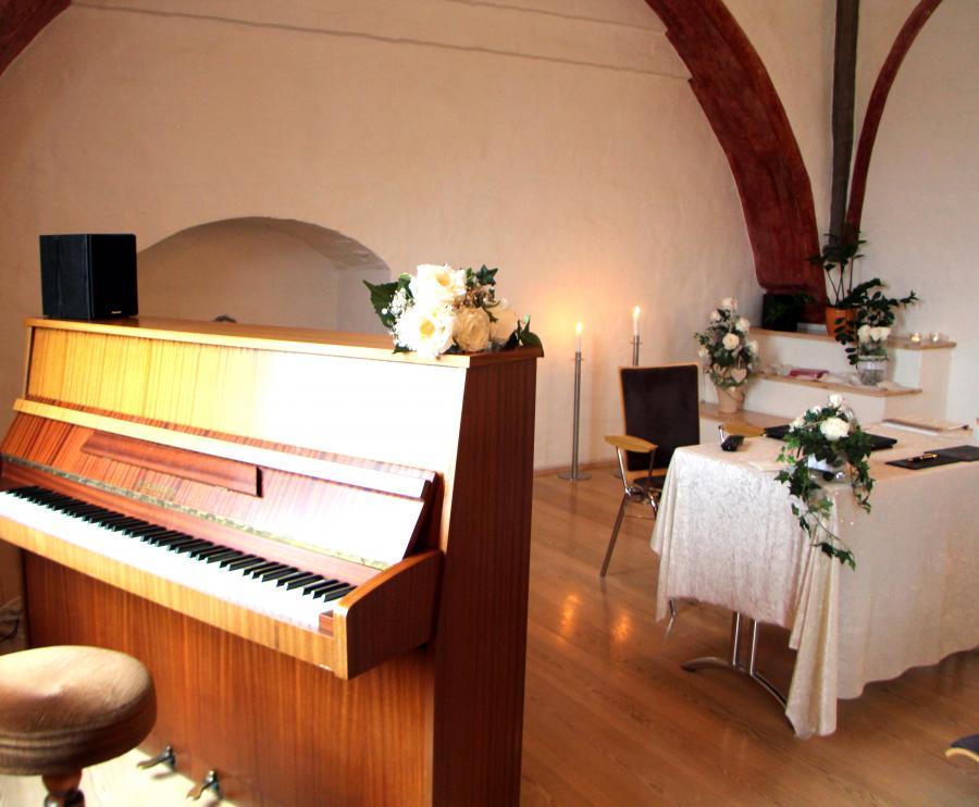 Trauzimmer Kempff-Saal im Mönchenkloster 6