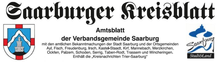 Amtsblatt Saarburg