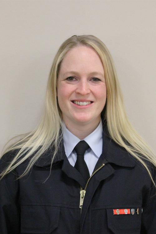 Sabrina Luft - Wehrführerin Feuerwehr Eckartsborn