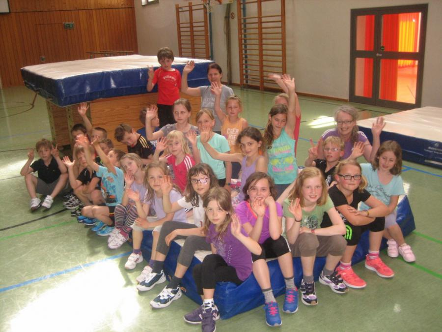 Saisonsbschluß Schulkinder 2013/14