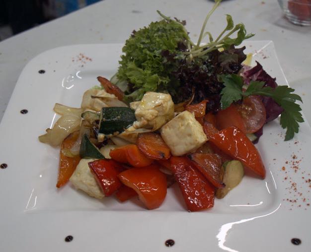 Salat Fetakäse