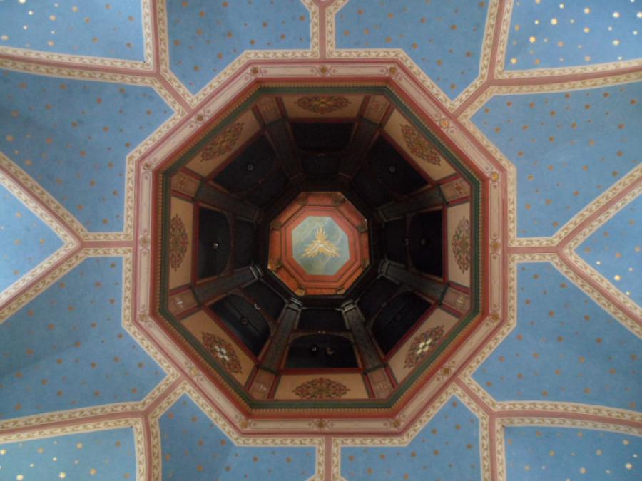 Portiunkulakirche, Miesbach, Decke, Foto: J.M.