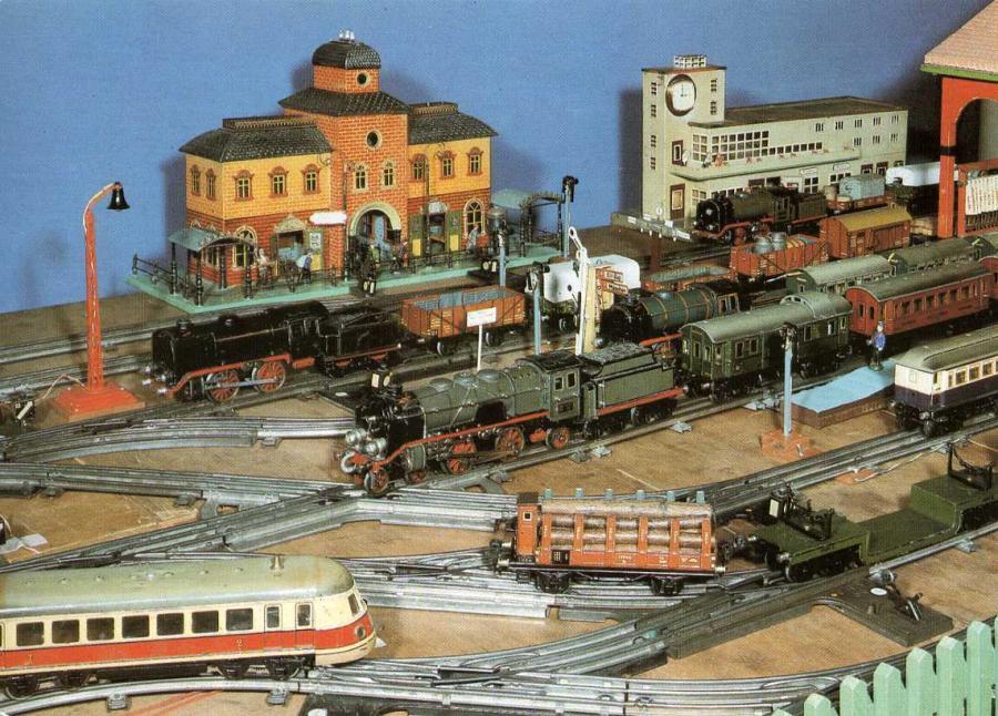 Sammelbildserie Modelleisenbahnen 12