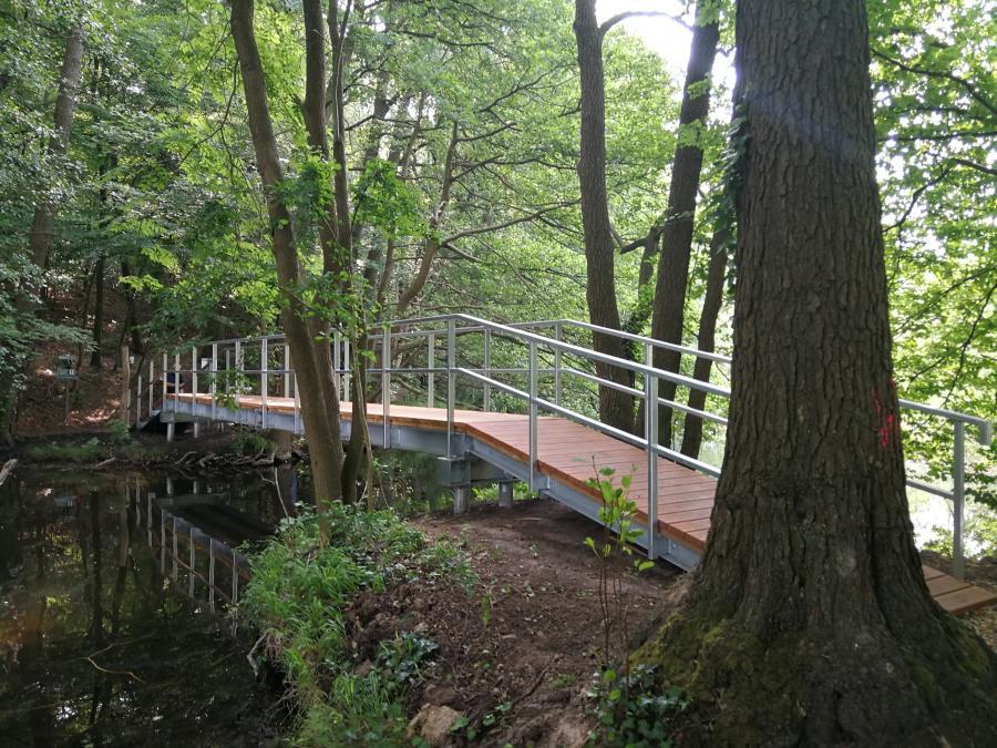 Sanierung Blaue Brücke