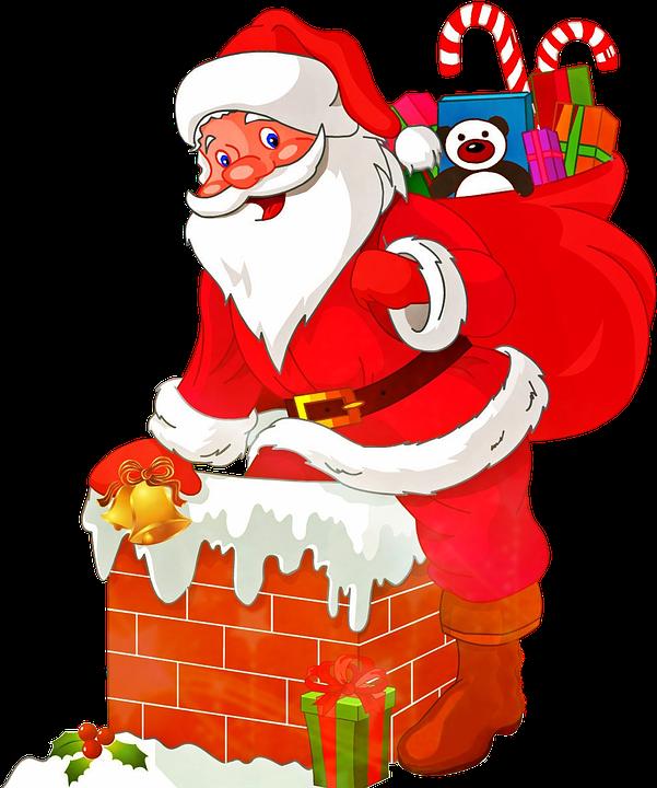 Weihnachtsmann frei