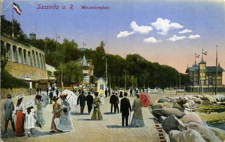 Sassnitza.R.Miramareplatz