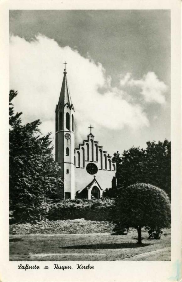 Saßnitz a. Rügen Kirche 1954